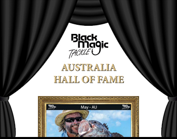 Black Magic Tackle Hall of Fame Australia