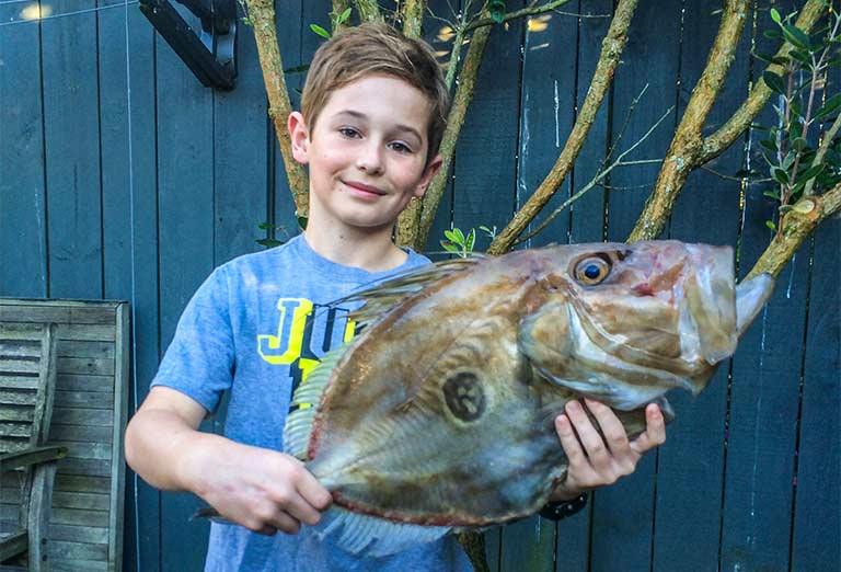 5lb john dory caught while fishing off the noises black magic tackle