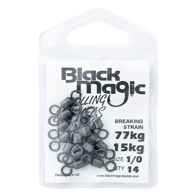 BLACK MAGIC ROLLING SWIVELS