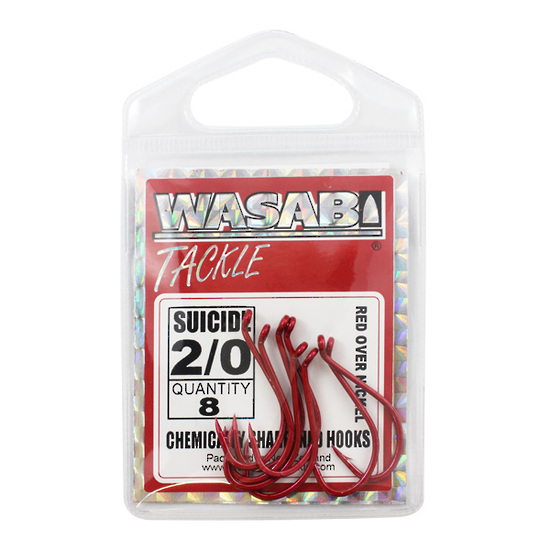 WASABI SUICIDE RED HOOKS