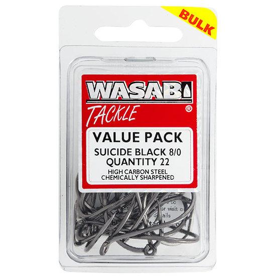 WASABI SUICIDE BLACK HOOKS