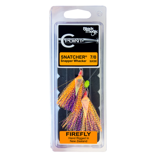 SNAPPER WHACKER FIRE FLY – C POINT HOOKS