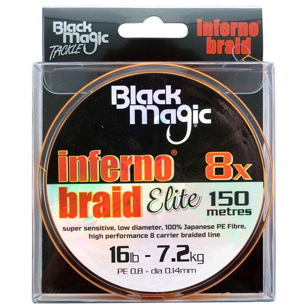 fishing line spools black magic inferno braid elite