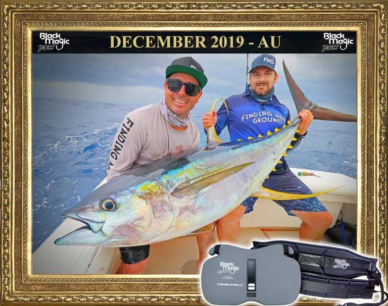yellow fin tuna black magic equalizer twin pin pro